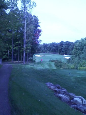 Painesville, OH: #6 Tee Shot Weiskopf/Morrish Course