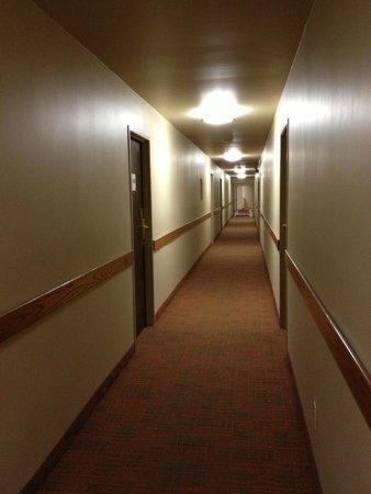 Best Western Aladdin Inn: Hallway