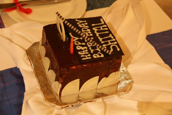 The LaLiT Golf & Spa Resort Goa: Complimentary Cake for my wife's Birthday