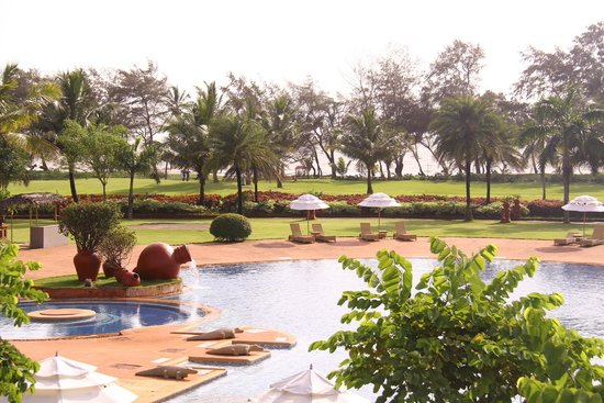 The LaLiT Golf & Spa Resort Goa: View from the room