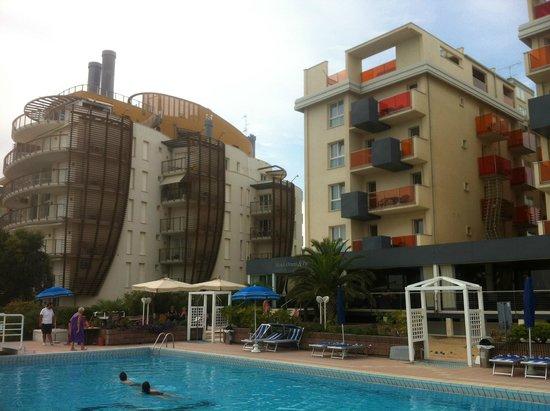 Hotel Orient & Pacific : Westlicher Hotelbereich