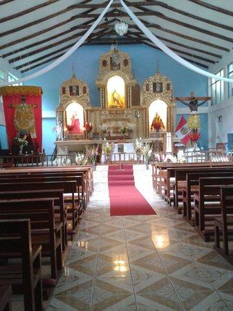 Hot Springs (Aguas Calientes): Igreja bem no centrinho de Águas Calientes