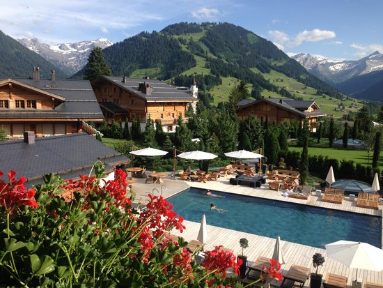 The Alpina Gstaad: Pool View