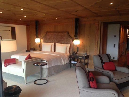 The Alpina Gstaad: Room