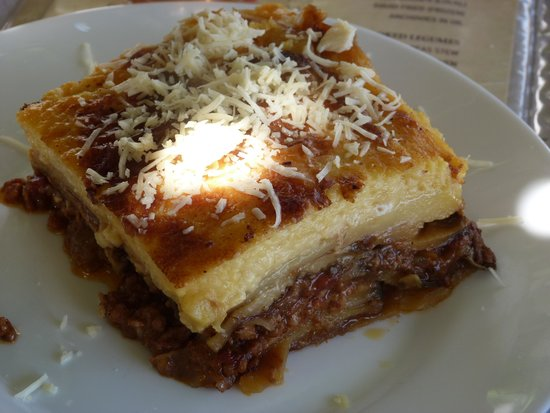 Old Time: moussaka