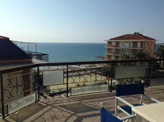Hotel Lungomare: vista da terrazzo camera 439