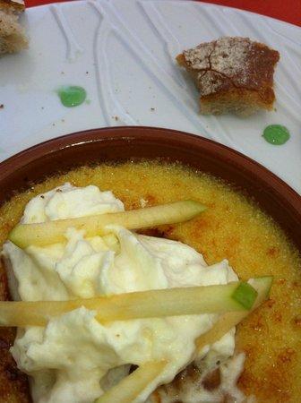 Restaurant Le Thou : unusual starter