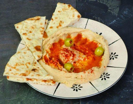 Sarah's Kabob Shop: Hummus with Pita Side