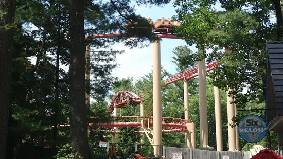 The Great Escape and Splashwater Kingdom : Try all the rides!