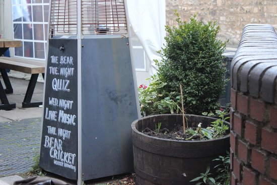 The Bear Inn, Oxford, England, September 2014