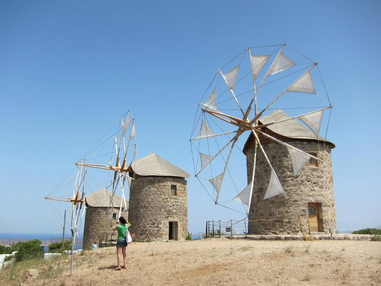 Windmills of Patmos
