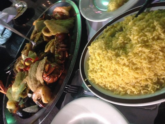 Iberia Peninsula Restaurant: Seafood for two