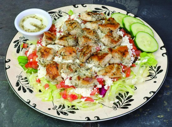 Sarah's Kabob Shop: Grilled Chicken Salad