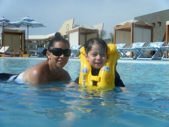 Aranwa Paracas Resort & Spa: En una piscina