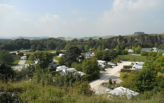 Rivendale Caravan & Leisure Park: View over Rivendale towards the South West