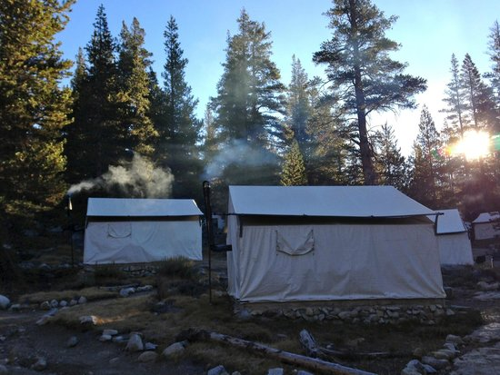 Tuolumne Meadows Lodge: tent cabins