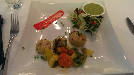 West Bridgford, UK: Scallops