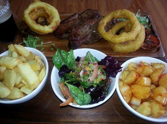 Stone Boat Restaurant at The Harbour House Inn: Steak Meal £35.00