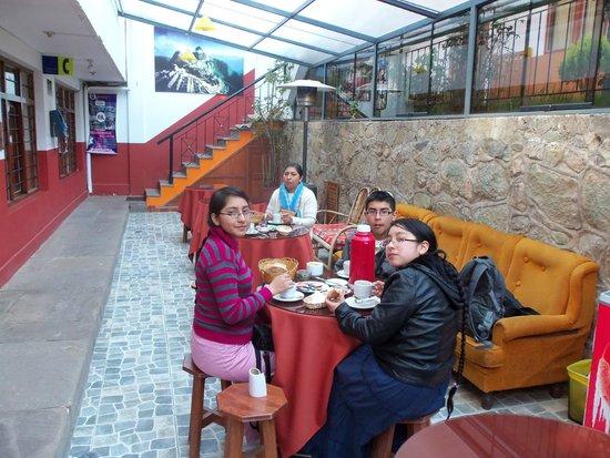 Hostal Pakcha Real: Comedor