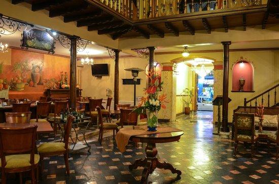 Hotel San Juan : Restaurante rosa Bella