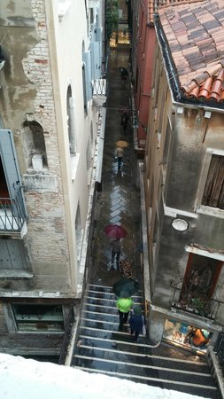Antica Locanda al Gambero: view from the room