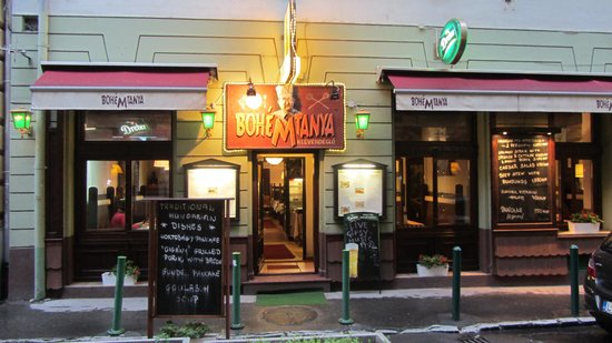Bohemtanya Etterem: A very nice place!