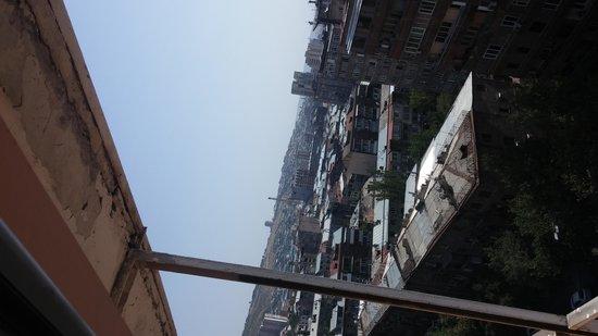 Ani Plaza Hotel: Вид на город с 11 этажа