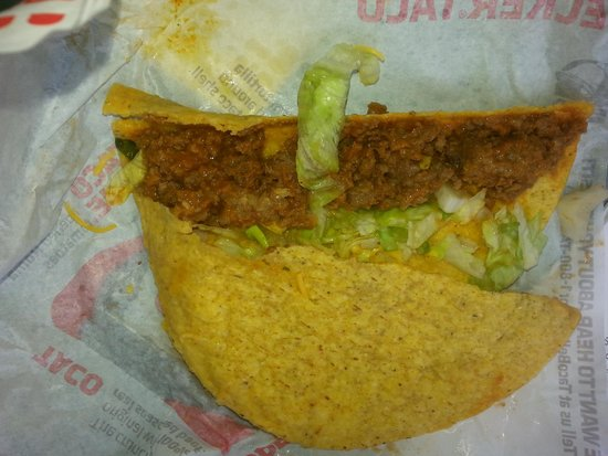 Taco Bell: Disgusting slop.