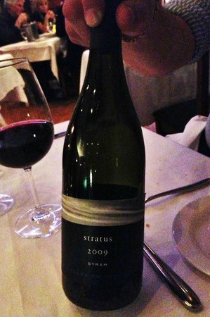 Pangaea Restaurant: Great wine collections too