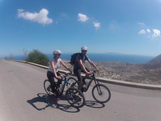 Santorini MTB Adventures: E-Bikes Santorini