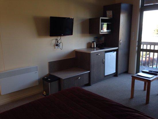 Lake Tekapo Village Motel: Our room, Lake Tekapo Scenic Resort.