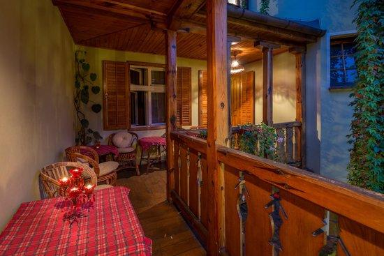 Villa Petra : terrace