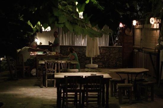 Kaputas Apart Hotel : Bahçe