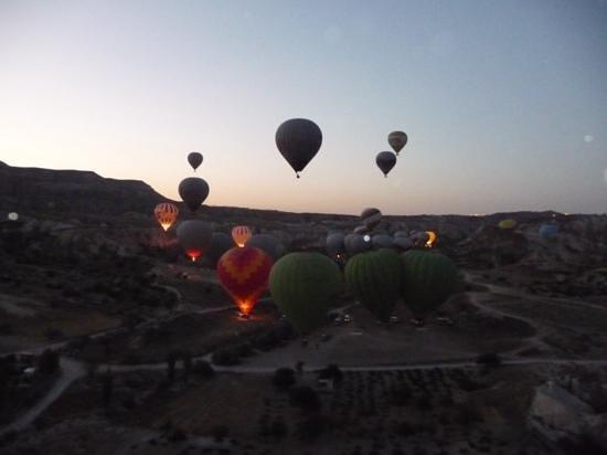 Skyway Balloons: amanecer