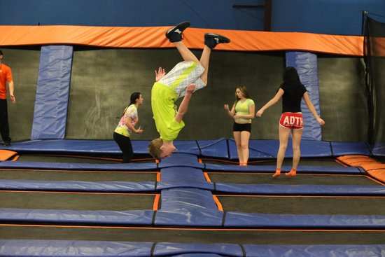 East Providence, RI: High flying fun at Sky Zone Providence