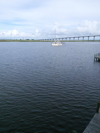 Apalachicola River Inn : view from our deck