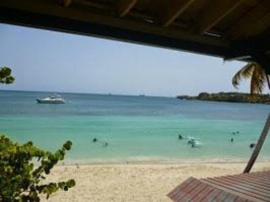 Island Beachcomber Hotel : View of the beach