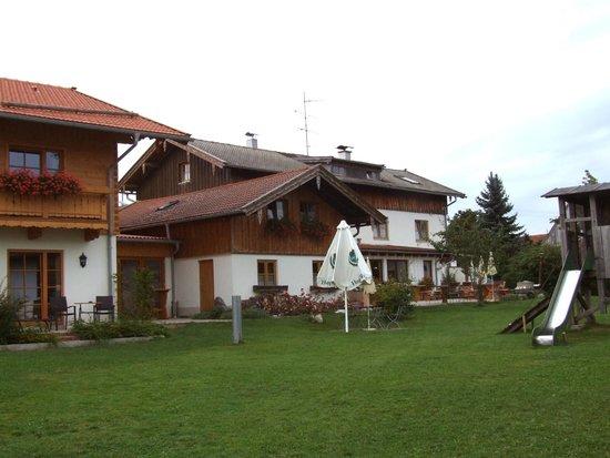 Pension Schweizerhaus: Towards the breakfast area