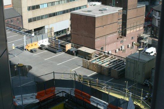 Radisson Blu Hotel, Birmingham: Unpleasant view from our room