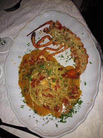 Al Saraceno : Spaghetti with lobster
