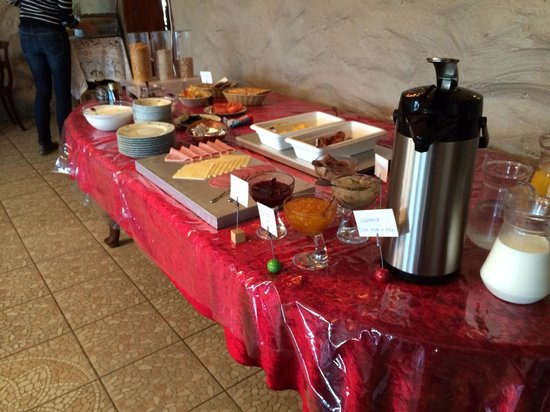 Country Hotel Anna: breakfast buffet