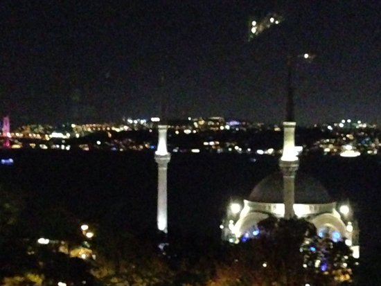 Topaz Restaurant: view