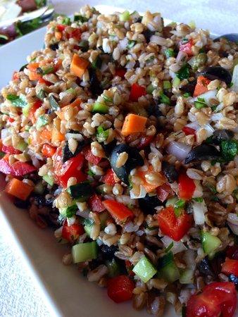 Alessandra Federici's Cucina Cooking School : Insalata di Farro (Farro salad)