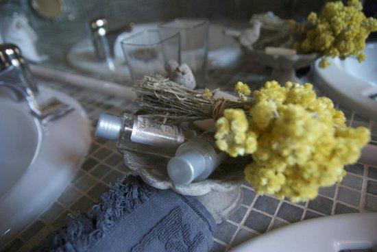 Villa Des Roses : Bathroom details