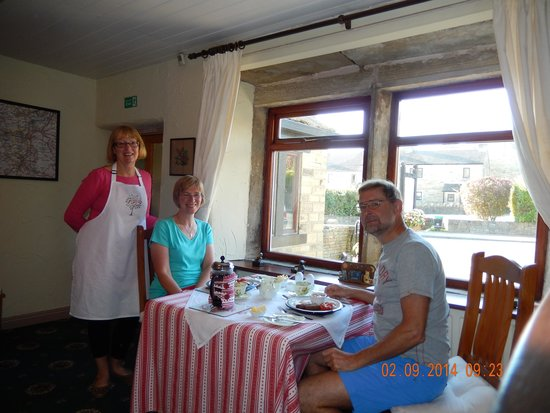 Cherry Tree Cottage: great and varied breakfasts
