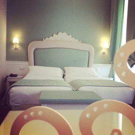 Hotel dei Borgia: Le lit très confortable