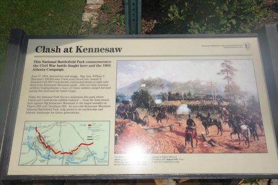 Kennesaw Mountain National Battlefield Park : sign