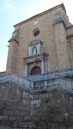 Monasterio Cartuja: Вход в моностырь