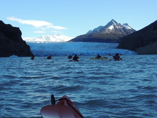 Bigfoot Adventure Patagonia: Chegando no glaciar