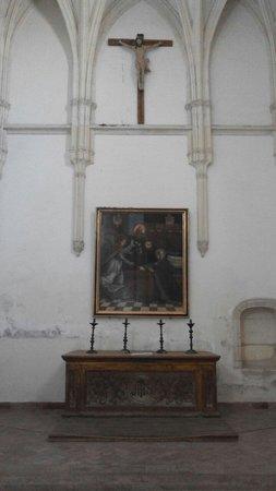 Monasterio Cartuja: Алтарь и картина в одной из залов монастыря
